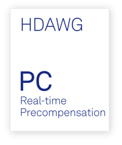 Zurich Instruments HDAWG-PC Real-time Precompensation